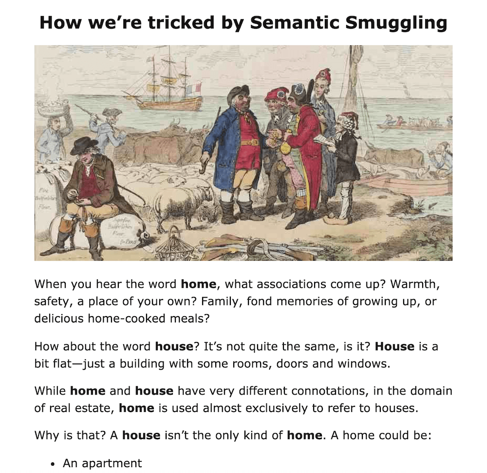 How we're tricked by Semantic Smuggling